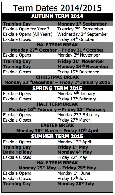term dates 14 15